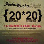 Affiche Pecha Kucha