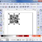 Inkscape : importer le QR code