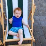 Florentin dans une chaise longue