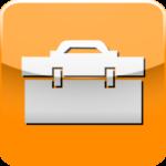Boite à outils Icone Iphone Orange