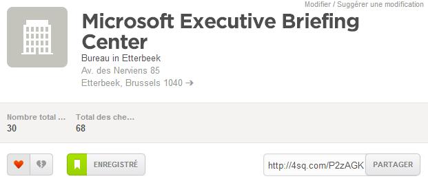 Adresse Microsoft