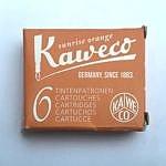 Boîte de cartouches d'encre Kaweco Sunrize Orange