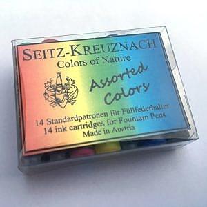 Assortiment de cartouches d'encre Seitz-Kreuznach