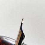 Bock BB left foot oblic curved italic